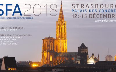 Evènement : congrès annuel de la SFA / Société Francophone d'Arthroscopie